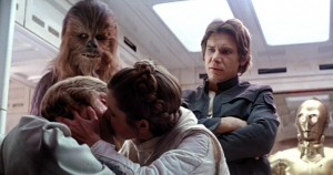 luke kisses his sister empire strikes back