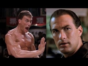 Jean Claude and Seagal